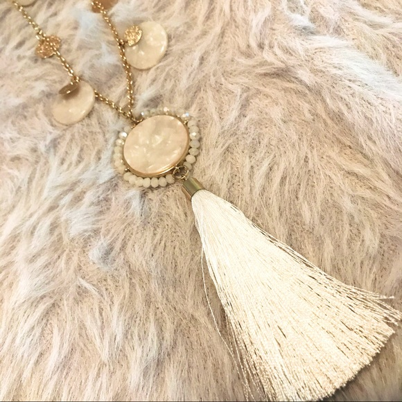 LILLY PULITZER | tassel necklace